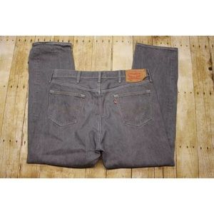 Mens 36x30 Levis 501 straight leg button fly jeans